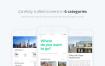 高品质的清爽旅游项目app界面ui设计素材源文件下载