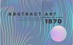 16款潮流时尚渐变海报、国外大师级抽象元素创意海报AI矢量平面设计素材下载