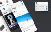 80+多个适配iPhone X大小的屏幕app界面ui设计模板素材下载
