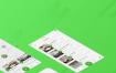 帮助喜欢旅行的人以最简单的方式找到餐馆,咖啡店,酒吧和俱乐部的用户界面app设计源文件ui设计素材下载,黑白2种风格,提供包含psd和sketch格式的ui设计素材下载