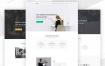 极简主义多功能网站设计素材下载
