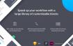 简单易用的app原型设计线框图智能组件设计ui设计素材下载,提供sketch和Adobe XD格式的ui设计素材下载
