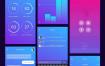 160个精心的app界面设计素材,提供Sketch格式文件