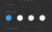 时尚简约室内设计app界面ui设计素材,提供xd格式的源文件下载