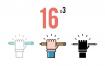16个扁平化风格教育矢量图标ui设计图标素材下载