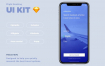 机票和租车应用app界面移动端用户界面UI设计素材,适配iPhone X提供Sketch源文件下载