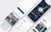 2种风格的专为iPhone X和iPhone 8ui设计素材下载提供含sketch源文件