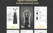 14个时尚应用程序app设计ui设计素材下载,包含XD和PSD格式