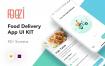 50个完整的餐厅食物配送app界面ui设计素材下载(含sketch和xd源文件)