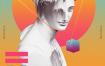 28款蒸汽波Vaporwave创意时尚广告抽象故障艺术海报模板UI设计PSD素材,文件大小3.2g,全部是psd的源文件