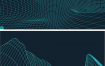 83款时尚酷炫科技感山脉起伏3D立体背景纹理装饰高清矢量素材EPS源文件打包下载