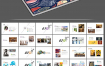 38套设计学院毕业生毕业作品和应聘作品集PSD素材源文件(包含A4和A3两种印刷尺寸)