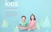 6款简洁儿童相册模板PSD素材源文件打包下载