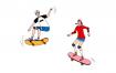 20款业余生活爱好运动钓鱼攀岩旅行潜水瑜伽高尔夫矢量插画素材