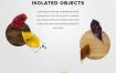 秋季海报设计元素高清分层PSD+PNG免抠图素材完整版