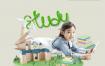 15款儿童教育智力开发编程培训班卡通宣传海报PSD模板设计素材图