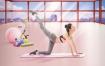 11款合理膳食健身瘦身饮食宣传PSD分层合成海报