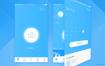 中文拍照搜题APP界面设计UI面试作品源文件下载