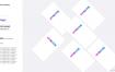 中文精品简历面试UI设计作品集模板PSD素材下载【1920X1080  170页】