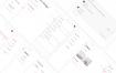 20多个时尚扁平化小清新UI界面设计素材下载- 提供sketch格式的文件