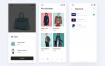 24个时尚电商购物小清新的精品ui设计界面源文件素材下载-提供sketch格式的文件