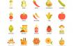 120园艺植物农业矢量图标优质设计素材下载