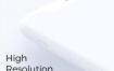 高品质的粘土和极简主义Minimal Apple模型优质设计素材下载