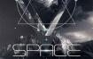 14款宇宙科幻海报PS海报素材PSD分层源文件下载