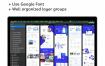32个企业网站现代网页设计素材下载