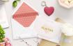 8款文艺小清新化妆品护肤品沐浴露乳液瓶子品牌vi包装设计展示贴图样机模版素材