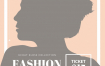 欧美风时尚服饰服装杂志排版内页海报广告设计psd模版美工素材图