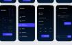 40个可定制的iPhone XS iOS财务应用UI工具包优质设计素材下载(提供Sketch格式下载)