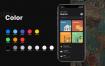 最新的iOS 13设计暗黑模式素材ui设计精品素材下载(提供Sketch格式下载)