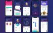 85个运动健康毕业设计项目app界面设计优质设计素材下载(提供Sketch格式下载)