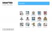 90个业务图标素材下载