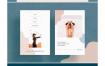非常有创意的社交媒体资料广告banner设计素材下载(提供PSD格式源文件)