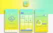 14款#ui设计#移动端APP页面UI界面购物电商打车旅行社交类设计PSD模板素材