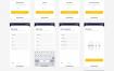 30多个app界面设计应用程序ui设计素材下载