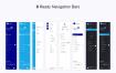 150多个现代金融财务后台管理系统仪表板UI工具包优质设计素材下载(提供Sketch格式下载)