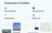 适用于iOS和Sketch的旅行UI工具包优质设计素材下载