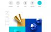 20款几何图形网页渐变渐变网络元素海报PSD设计素材