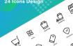 24个电子商务图设计素材下载