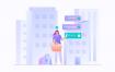 10款app引导页商业插画素材下载