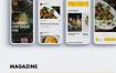 25个厨房美食app界面UI设计素材下载