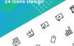 25会计图标集设计素材下载