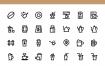 30咖啡店图标优质设计素材下载
