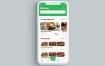 22个食品美食app界面UI设计素材下载