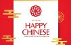 16款中国红烫金金边花纹福春喜印花传统卡片海报PSD设计素材