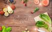 22款新鲜食材蔬菜水果鸡蛋番茄樱桃点心面包海报PSD设计素材