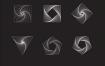 抽象规律几何图形形状矢量免抠设计素材